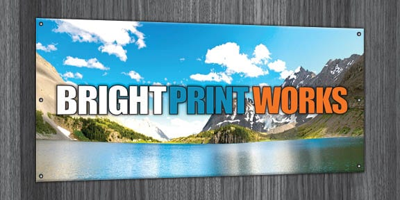 Vinyl Banners from Bright Print Works