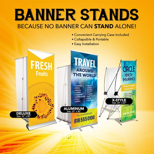 Banner Stands - All - Bright Print Works