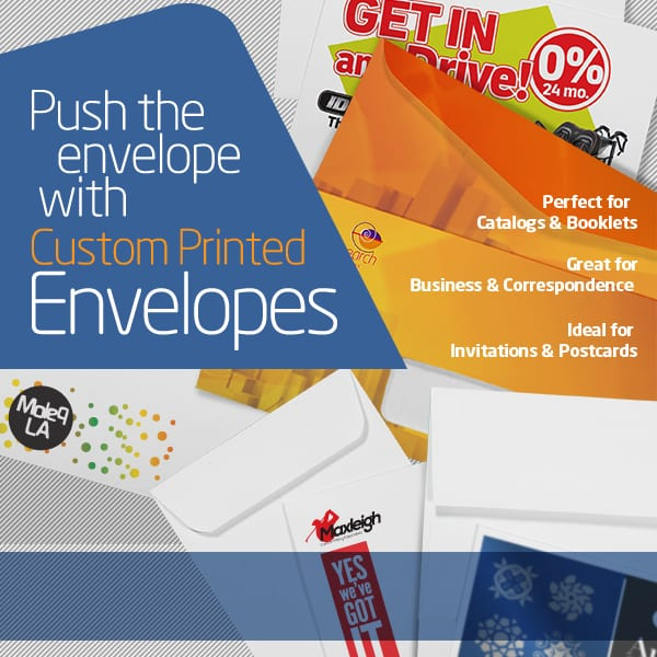 Bright Print Works Envelopes