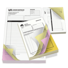 NCR Forms (4 Part, 8.5 x 11) at Bright Print Works