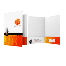 "Presentation Folders - 9"" x 14.5""  Legal Size"