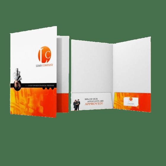 "Presentation Folders - 9"" x 14.5""  Legal Size"