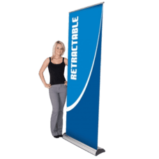 Retractable Banner Printing at Bright Print Works