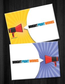 Announcement Card Printings from Bright Print Works