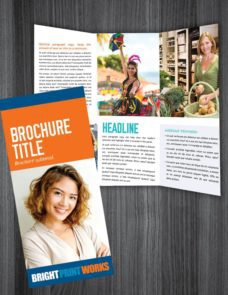 Bright Print Works Brochures