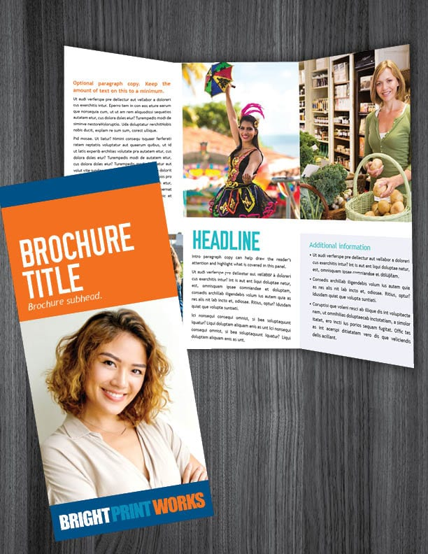Bright Print Works Brochures