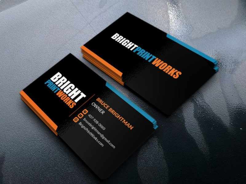 Business Cards from Print Bright Works