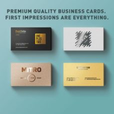Business Card Sizes - Bright Print Works