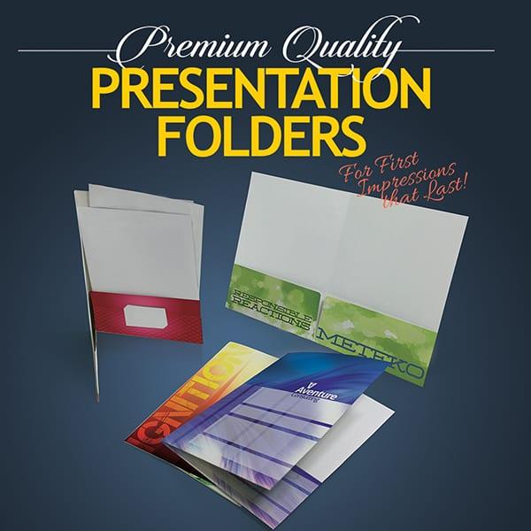 Presentation Folders - Bright Print Works