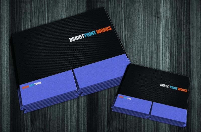 Presentation Folders by Bright Print Works