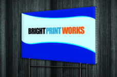 "Bright Print Works Yard Sign 24"" x 36"""