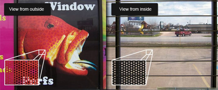 Printed Static Cling Window Vinyl for Business & Home | Bright Print Works