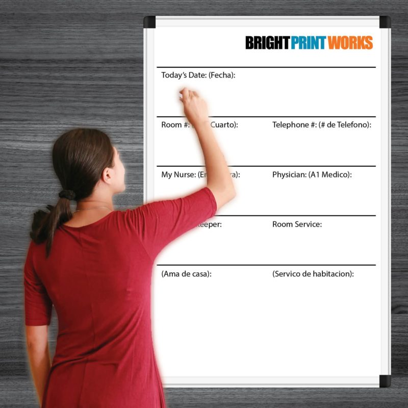 Bright Print Works Dry Erase Boards