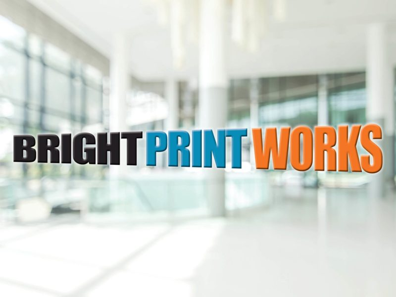 Window Vinyls from Bright Print Works