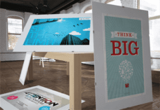 Custom Foam Core Board Black printing Signage | Bright Print Works