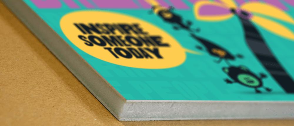 Foam Core Board Custom White Printing Signage Bright