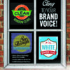 Window Clings and Vinyls - Bright Print Works