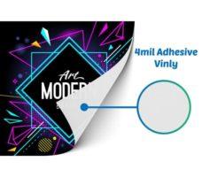 Window Vinyls 4 Mil - Bright Print Works