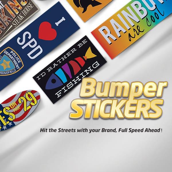 Bright Print Works Bumper Stickers
