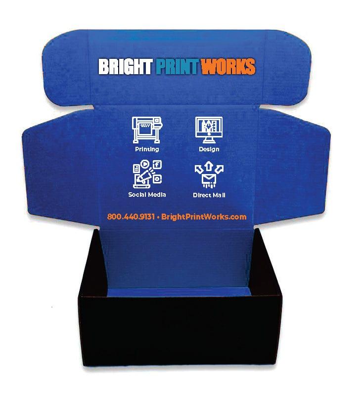 Custom Mailing Box Bright Print Works
