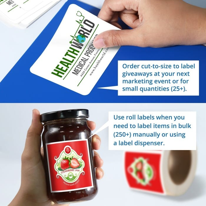 Roll Labels - Any Size - Bright Print Works