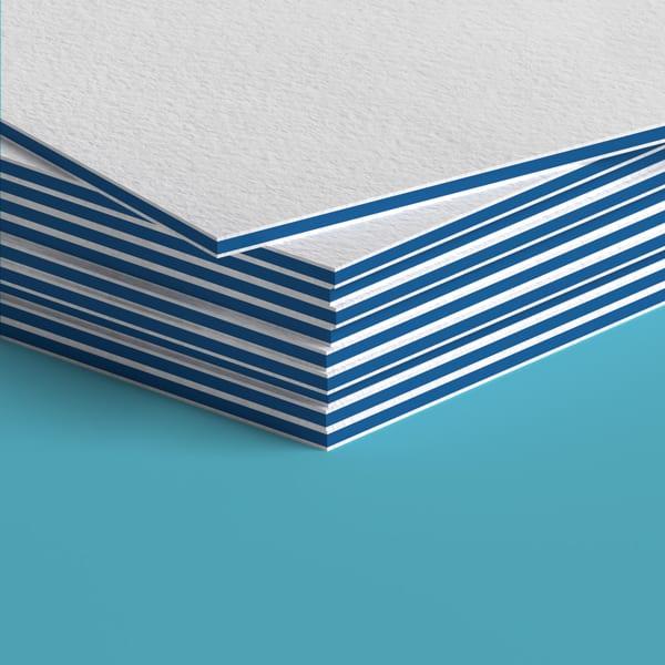 38pt Colored Edge Blue
